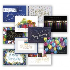 Birthday Assortment Pack (50 Cards)