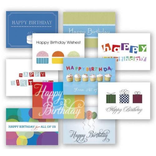 Birthday Assortment Value Pack 50 Cards