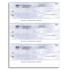Standard Top Cheques - Laser/Inkjet (Single Copy) - W9011
