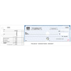 High Security 1-To-A-Page Cheques - WHS438 / HS438 / QFHS438 / QHS438