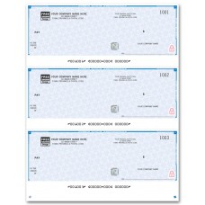 High Security Cheques - 3-to-a-Page (Single Copy) - WHS9011 / HS9011