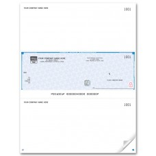High Security Middle Cheques - Laser/Inkjet (Single Copy) - WHS9037 / HS9037