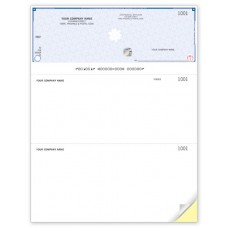 High Security Top Cheques - Laser/Inkjet (Double Copy) - WHS9085-2