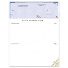 High Security Top Cheques - Laser/Inkjet (Double Copy) - WHS9209-2 / HS9209-2
