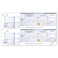 Basic Security Two-to-a-Page Cheque (Single Copy) - WSS437 / SS437
