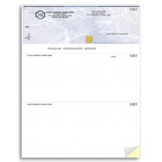 Security Business Cheques - Top Cheque - Laser/Inkjet (Double Copy) - WSS9085-2