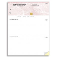 Security Business Cheques - Top Cheque - Laser/Inkjet (Double Copy) - WSS9209-2