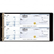 Manual Cheque Binder - 1 part cheque - (Black) - W4437