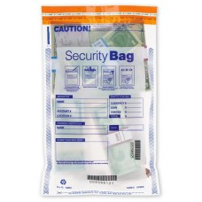 "10 x 15"" Single Pocket Deposit Bag, Clear - W53853 / 53853C"
