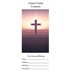 Church Advent Offering Envelopes
