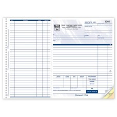 Contractor Work Order, Expense & Invoice Form (3 Copy) - W245