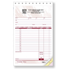 Sales Receipt Slips - Medium (2 Copy) - W81