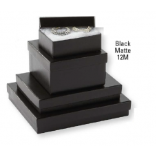 Jewellery Boxes - Black Matte