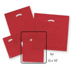 "Die-Cut Handle Plastic Bags  - 12"" x 15"" (1000 Bags)"