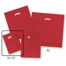 "Die-Cut Handle Plastic Bags  - 9"" x 12"" (1000 Bags)"