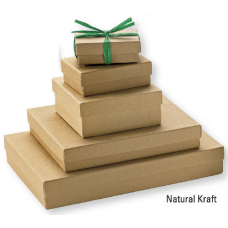 Jewellery Boxes - Natural Kraft
