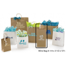 "Wine Bag (5 1/4 x 3 1/2 x 13"", 250/case)"