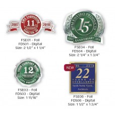 Fossler® Foil-Embossed Seals (Digital Only)