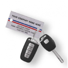 Automotive Key Tag - W1158