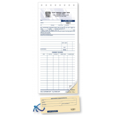 Lay Away Form w/ Claim Check (2 Copy) - W147 / 147 / 147-2