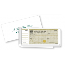 High Security Gift Certificate - W5050 / CC5050 / CC5050-1