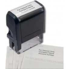 Self-Inking Endorsement Stamp - W102170