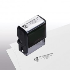 Self-Inking Stamps (Medium - 5 Lines) - W8844M