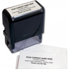 Self-Inking Stamps (Small - 4 Lines) - W983
